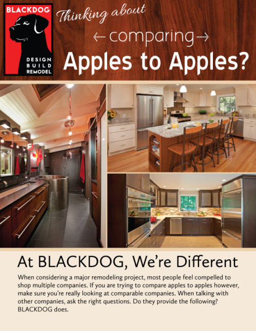 Apples to Apples One Page Brochure