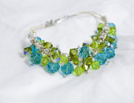 Crystal Confetti Bracelet