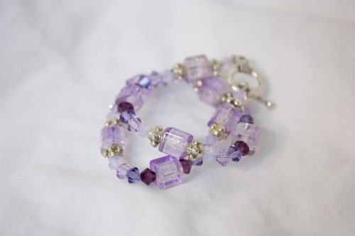 Perfectly Purple Bracelet