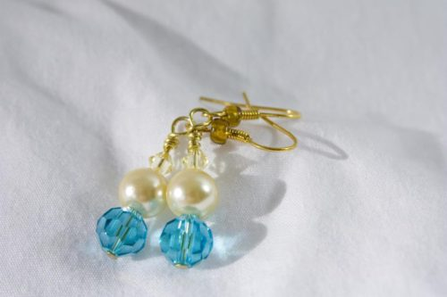 Sand And Sky Earrings