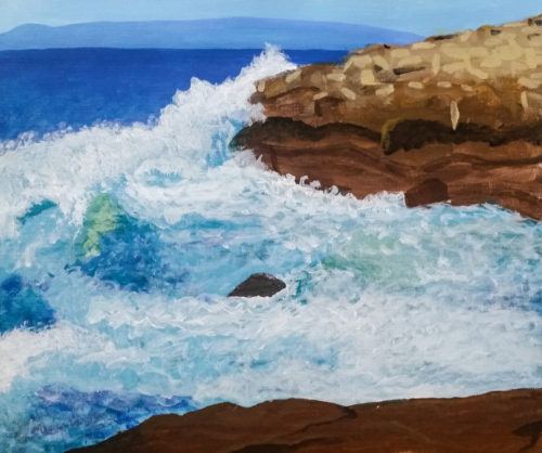 Schoodic Study 1 by Kelly Pride - Small