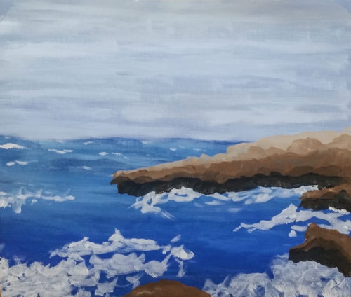 Schoodic Study 2 by Kelly Pride - Small