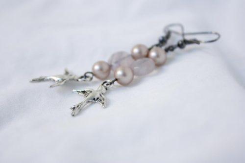 Sweet Swallows Earrings