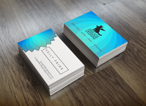 Winged Kitten Designs Business Cards