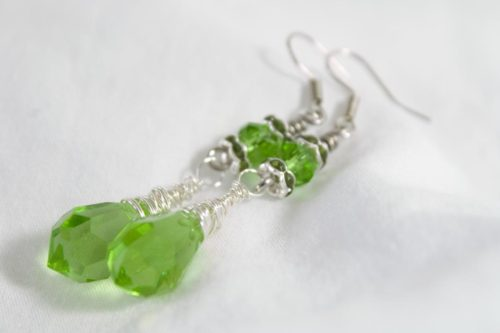 Wrapped Green Drops