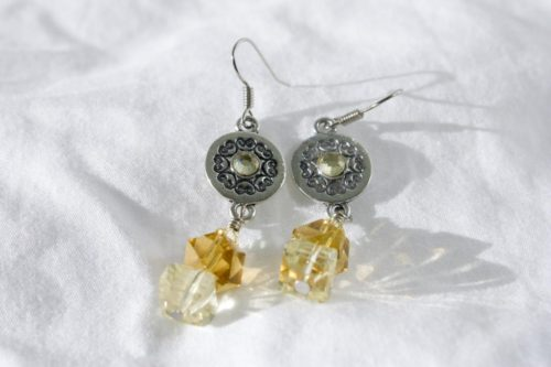 Yellow Sunshine Earrings