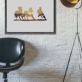 Equine Sunset - 11x14 Wall Print