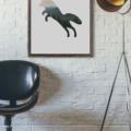 The Leap - 11x14 Wall Print