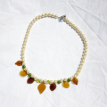 Fall Into Pearls Handmade Necklace